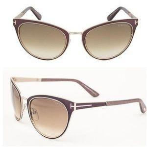 Tom Ford FT0373 Nina Cat-Eye Sunglasses